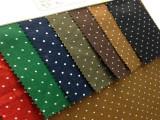 现货:CVC涤棉 斜纹 点点布 服装 外套面料