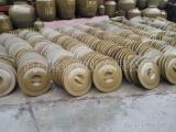 厂家直销土陶酒坛配套陶瓷盖子和不锈钢酒坛盖子