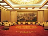 江山永固大厅会议室万里长城图背景墙批发价格