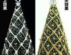喀什圣诞节摆件现货租赁 圣诞老人圣诞树鹿拉车展览展示道具出售
