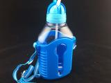 创意防漏儿童吸管杯 品质饮水杯双层儿童水