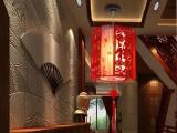 特价婚庆灯笼中式餐吊拉丝木艺雕刻茶楼酒楼仿古羊皮灯饰