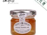 安得利 进口食品 英国缇树 橙皮味果酱 28g 一级代理 果酱批
