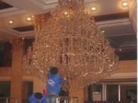 上海水晶灯专业清洗公司 沙发空调清洗消毒 玻璃清洗