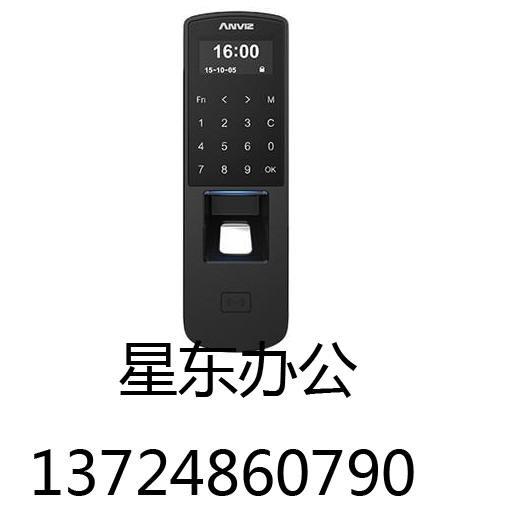 美国ANVIZ安威士P7指纹ID刷卡密码门禁机