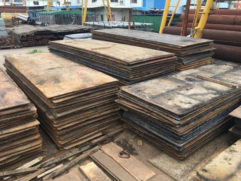 广东租赁铺路钢板,拉森钢板桩租售