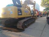嘉兴小松200和220等二手挖掘机出售二手轮胎挖掘机