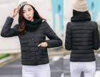 冬季棉衣女中长款 修身气质女装轻羽薄绒棉服冬装女外套