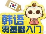 张家港韩语培训哪里有 零基础入门