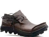专柜正品BOSETON 真皮休闲皮鞋 纯手工制作 男鞋2011冬
