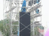 三元里棠下租赁表演舞台桁架背景舞台灯光音响
