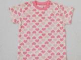 限时折扣2014年夏装新款西松屋外贸原单 舒适纯棉女童半袖T恤