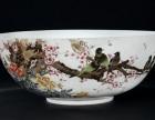清粉彩花鸟纹碗鉴定特点和拍卖价格