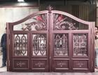 天津安装庭院铝艺大门,西青区铝艺围墙专业安装