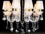 豪华水晶吸顶灯  新款欧式豪华客厅餐厅卧室灯 矮户型专用