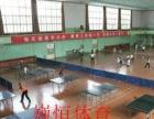 乒乓球馆设计铺设
