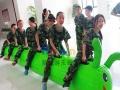 趣味运动会充气毛毛虫道具 儿童毛毛虫竞速 拓展训练器材同舟共