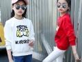 北京动物园秋季童装批发最新款秋冬季儿童套装加厚打底衫特价批发