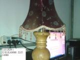 实木灯具 硬木台灯 老榆木落地灯