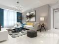 安阳中华园三室两厅北欧风格装修效果图案例