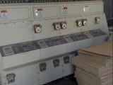 转让上海双色水墨印刷开槽机,二手纸箱设备,高速机,粘箱机,送