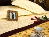 酒店客房装饰类布草 舒润织造 专业酒店客房床上用品生产厂家
