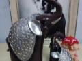 爆款泰国仿古母子象摆件树脂工艺室内家居装饰品批发