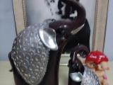 爆款泰國仿古母子象擺件樹脂工藝室內家居裝飾品批發
