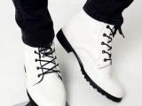 男士潮流英伦高邦潮鞋马丁靴高帮鞋韩版皮鞋休闲男鞋子时尚靴潮鞋