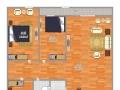 哈佛国际3室2厅1卫1阳台,白领打工族快来看啊