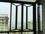广州无框封阳台 折叠封阳台安装 阳台折叠窗定制