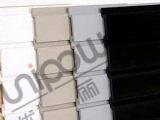 挂钩用高档PVC槽板 塑料槽板 万用板 墙板 货架展示板