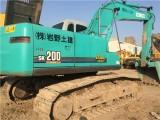 二手神钢200-6挖掘机