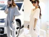 2014新夏装韩国中袖 大码宽松T恤百搭女装显瘦