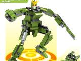 奇优比儿童玩具益智 绿漆袭击高达机甲机器人模型玩具GD0017批