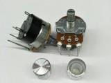 厂家供应RV24NS弯脚开关电位器大功率调速器