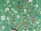 供应易佳工艺坊丝绸手绘墙纸