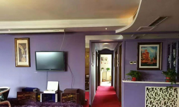 新华湛鱼台豪园 4室2厅 主卧 朝西北 豪华装修