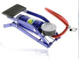 便携式高压脚踏打气筒 汽车便携脚踩打气泵 电动车打气筒 脚踩