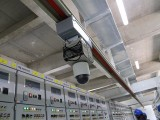 巡检机器人 轨道机器人 挂轨 云台 吊柜