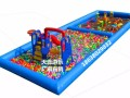 充气城堡儿童滑梯水上滑梯水上乐园水上漂浮物张家口厂家