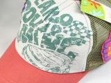 夏款魔豆儿童棒球帽男女宝宝鸭舌帽印花小屋网帽 快乐校园c12-0