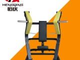 安徽池州商用健身器材厂家健身房力量器械坐式双向推胸训练器