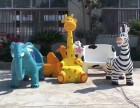 玻璃钢雕塑动物座椅糖果座椅适合商场景区