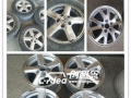 深圳汽车胎铃刮痕修复翻新,钢圈缺口修复,轮毂凹陷修