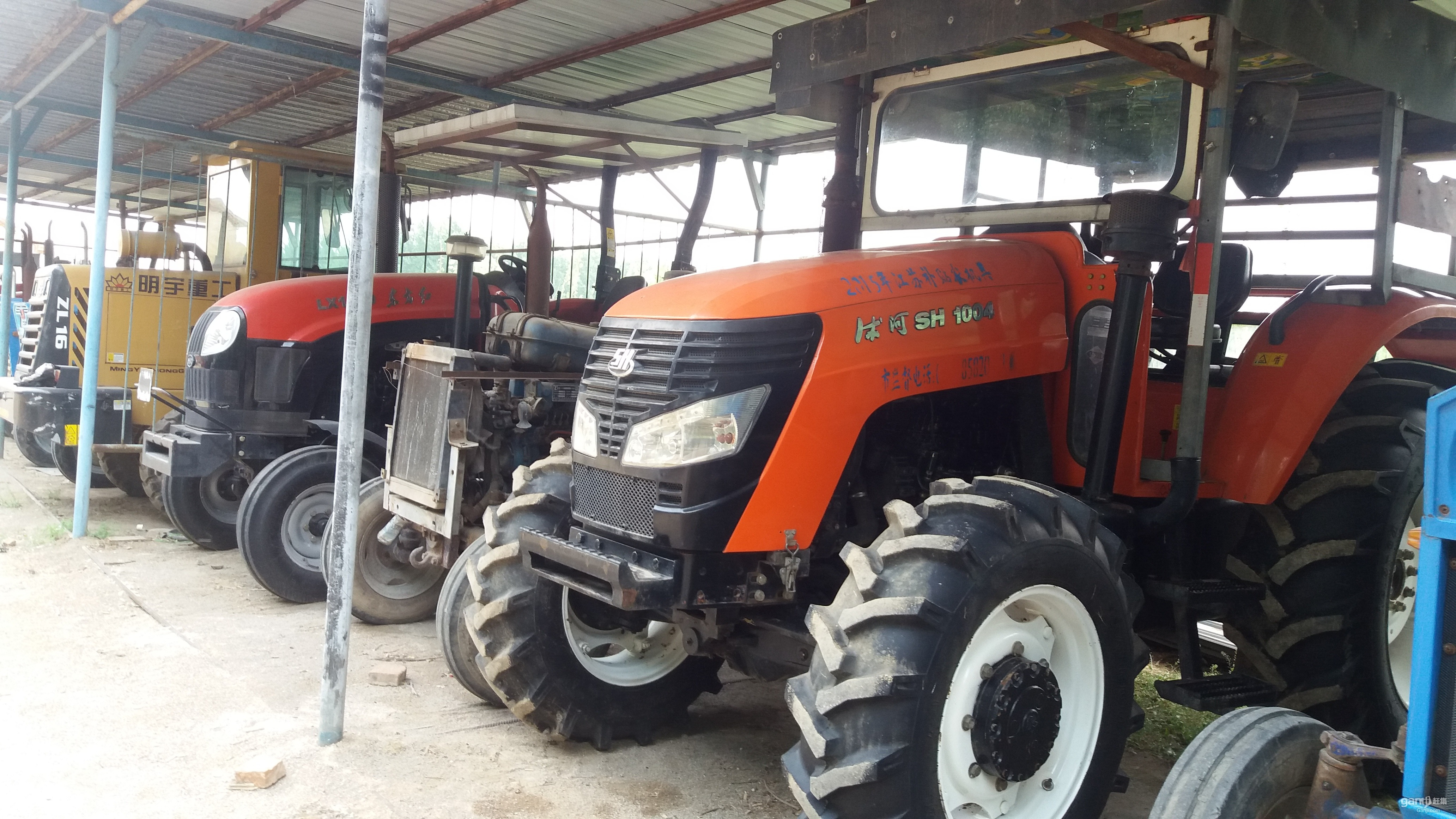 沭河 554轮式拖拉机_传众产品库