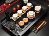 茶盘厂小祥龙茶盘紫砂玲珑青花茶具茶道茶具套装德化陶瓷茶道托盘