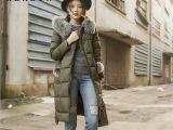 2016冬装新款韩版女装羽绒外套纯色连帽