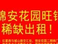锦安花园二期南门西边靠近十字路口旺铺出租!!!