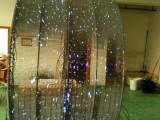 深圳飞视光电玻璃LED透明屏幕墙屏